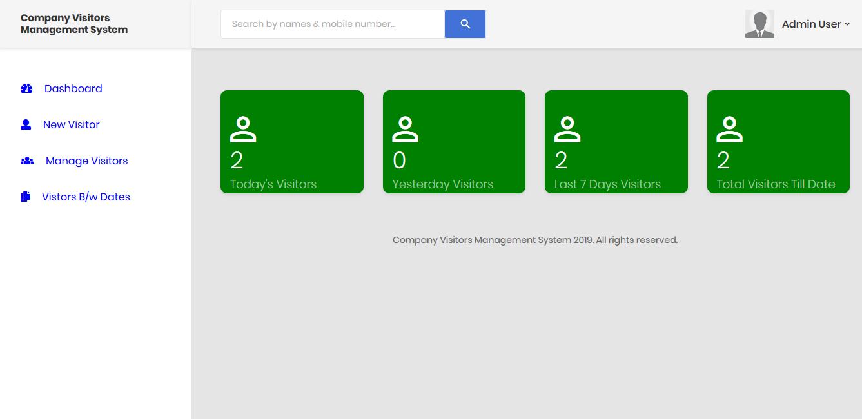 Company-Visitors-Management-System