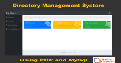 Directory-Management-System