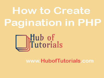 How to Create Pagination in PHP