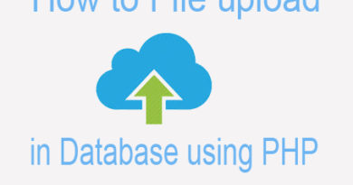 How to File Upload in Database using PHP