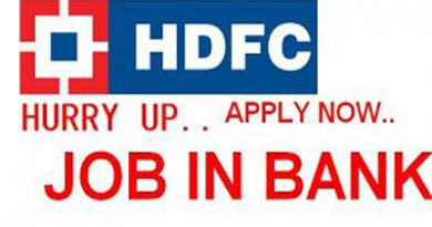 HDFC Bank Job