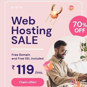 web hosting sale