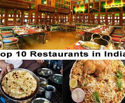 Top 10 Restaurants in India