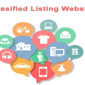 Classified Website list